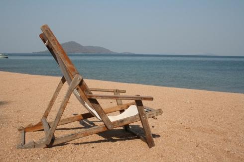 Encuéntrame aquí. Cape Maclear, Malawi